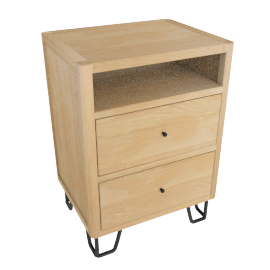 Brunel Bedside Table
