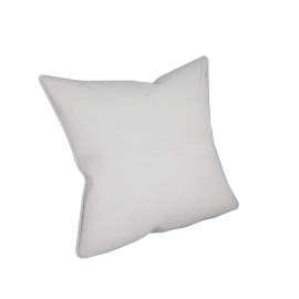 Eternity Cushion Cover - 65x65 cms, White