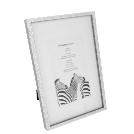 Gloria Photo Frame - 4x6 inches, Silver
