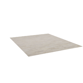 Thin Strip Cowhide Rug, 10'x12'