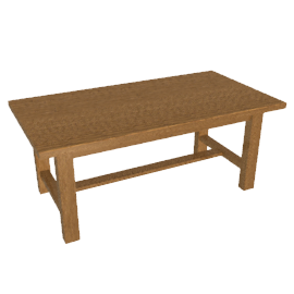 Bergerac Extending Dining Table, Alsace