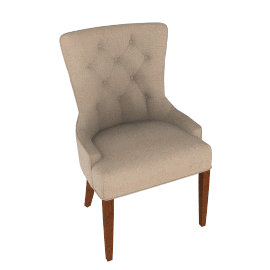 Flynn Scoop Back Chair