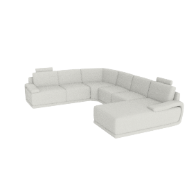 Alfred Corner Sofa Right, Cream