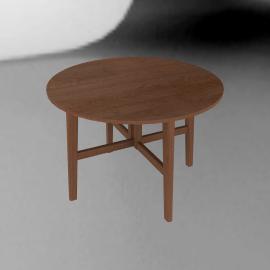 John Lewis Camberley Round 4 Seater Gateleg Dining Table