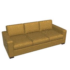 Portola Sofa - 84 in Ultrasuede