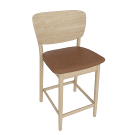 Valencia Counter Stool, Clay