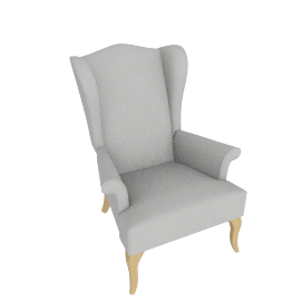 SHAFTESBURY WING CHAIR