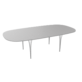 Super Elliptical Extension table - extended