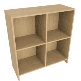 House by John Lewis Oxford Double Shelf Unit