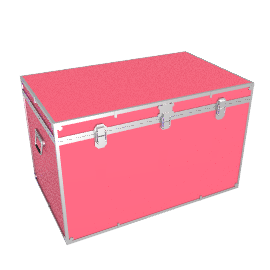 Fortified King Trunk, Pink