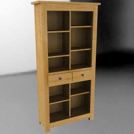 John Lewis Pendleton Bookcase, H200cm