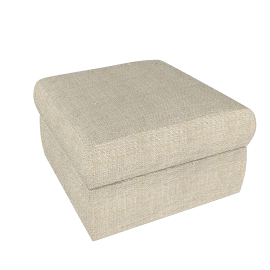 Gino Footstool, Natural