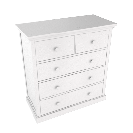 Ashton white 3+2 chest