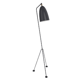Grasshopper Floor Lamp, Charcoal