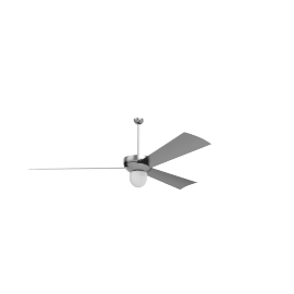 Altus Ceiling Fan with Incandescent Light