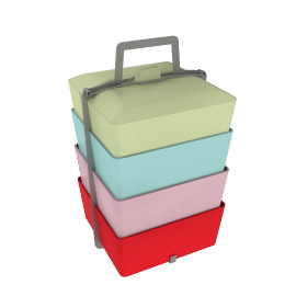 Brights Picnic Tiffin Box