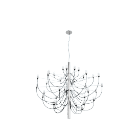 Model 2097 30 Chandelier, Chrome