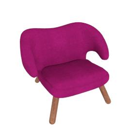 Pelican Chair - Fabric B - Plum