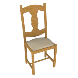 Dordogne Panelled Dining Chair