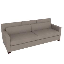 Vesper King Sleeper Sofa in Leather