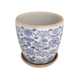 Mosaka Planter Pot Saucer - 22x22x21 cms