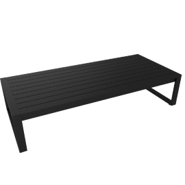 Eos Coffee Table, Black