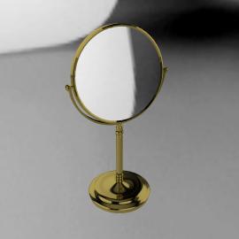 Gold Stand Mirror, 15cm