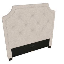 Stellar Neo Single Headboard, Beige