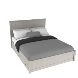 Downton Storage Bed, Kingsize