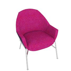 Thonet S 831, Purple / Pink