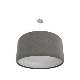 Luceplan Silenzio Sospensione D90, dark grey