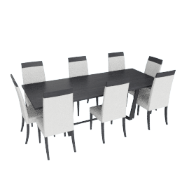 Charmant 8-seater Dining Set