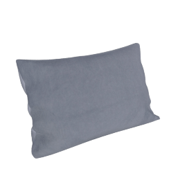 Maharam Pillow in Cotton Velvet , Lavender 11x21