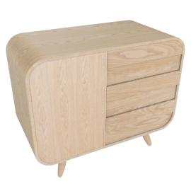 Esme compact sideboard, ash