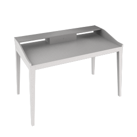 Paris Desk, White