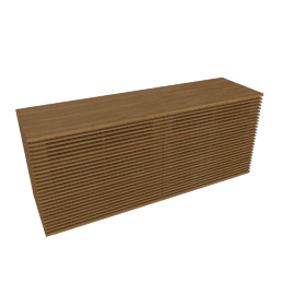 Line Wide Dresser, Oak