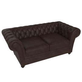 Ascot 2 Seater Brown