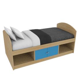 Corey Cabin Bed, Blue