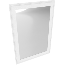 Ivorum Wall Mirror, White