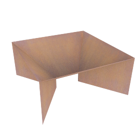 Plodes Geometric Fire Pit, Small