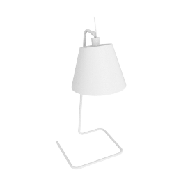 Jam Table Lamp, White
