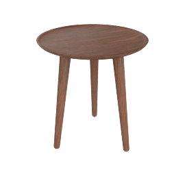 Edge Side Table, Walnut