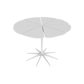 Petal Dining Table, White