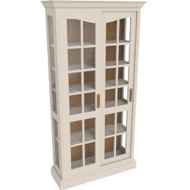 Amelie Glazed Display Cabinet