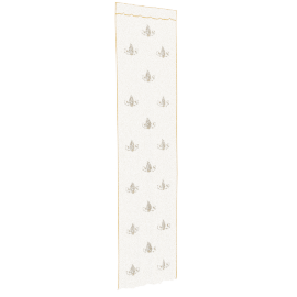 Arianna 2-piece Curtain Set - 135x300 cms, Gold