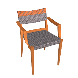 Play Armchair - Terracotta/Stone - Terracotta