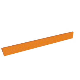 Briley Wall Shelf, Orange
