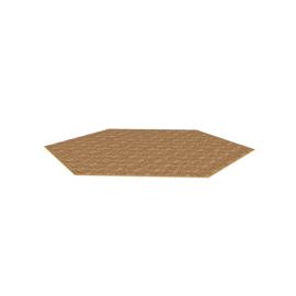 Hexagon Brown