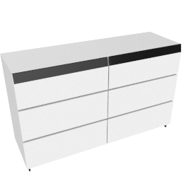 Betrib 7-Drawer Dresser, White