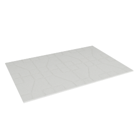 Modern Arabesque Bath Mat - 90x60 cms